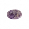 Dog Teeth Amethyst 13x18mm Oval 9Pcs Approx